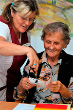 Fu kunze gmbh seniorenresidenzen residenz sonnenhof for Goldfischteich pflege